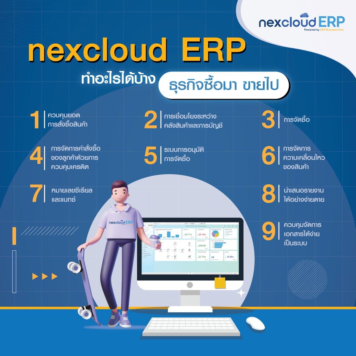 ERP ซื้อมาขายไป ราคาย่อมเยา สำหรับ SMEs ครอบคลุมงาน คลัง จัดซื้อ บัญชี ขาย เหมาะสำหรับธุรกิจไทย